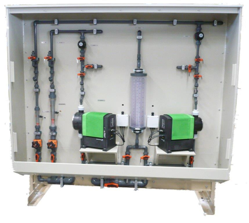 Chemical Dosing Panels Water Treatment West Water