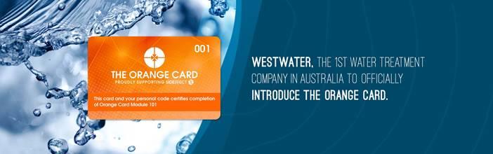 Westwater Orange Card